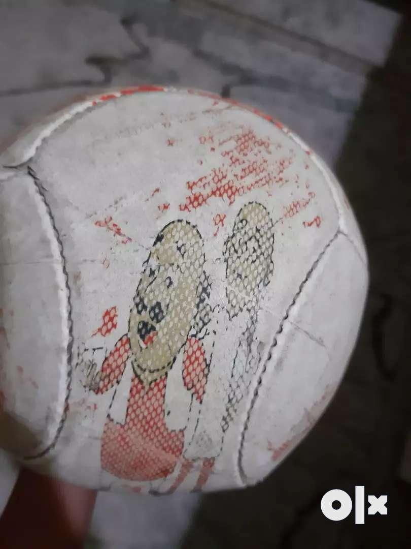 Playing foot ball 0