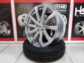 Velg mobil Toyota Kijang innova Ring 18x8 H5x114,3 HSR ibiza