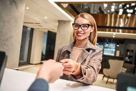 Front Desk Executive and Receptionist