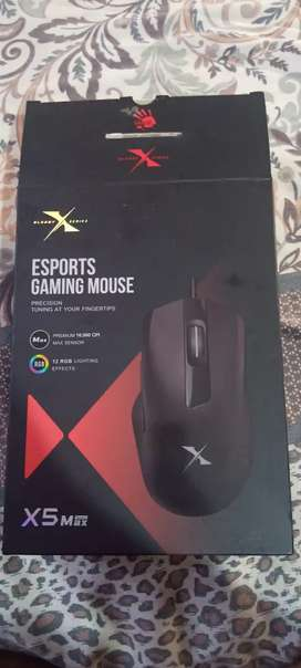 Bloody X5 Max X series gaming mouse