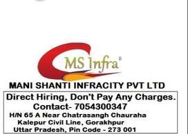 Urgent Requirement For Civil Engineer in Gorakhpur