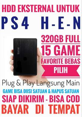 HDD 320GB FULL 15 Game Terlaris PS4 Harga Mantap Bebas Pilih
