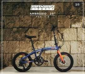 Sepeda family 20 lipat ambrosio TX 3.7 ada warna 2.5jt ready