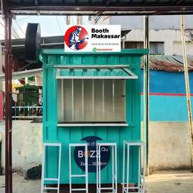 Booth Semi Container Franchise