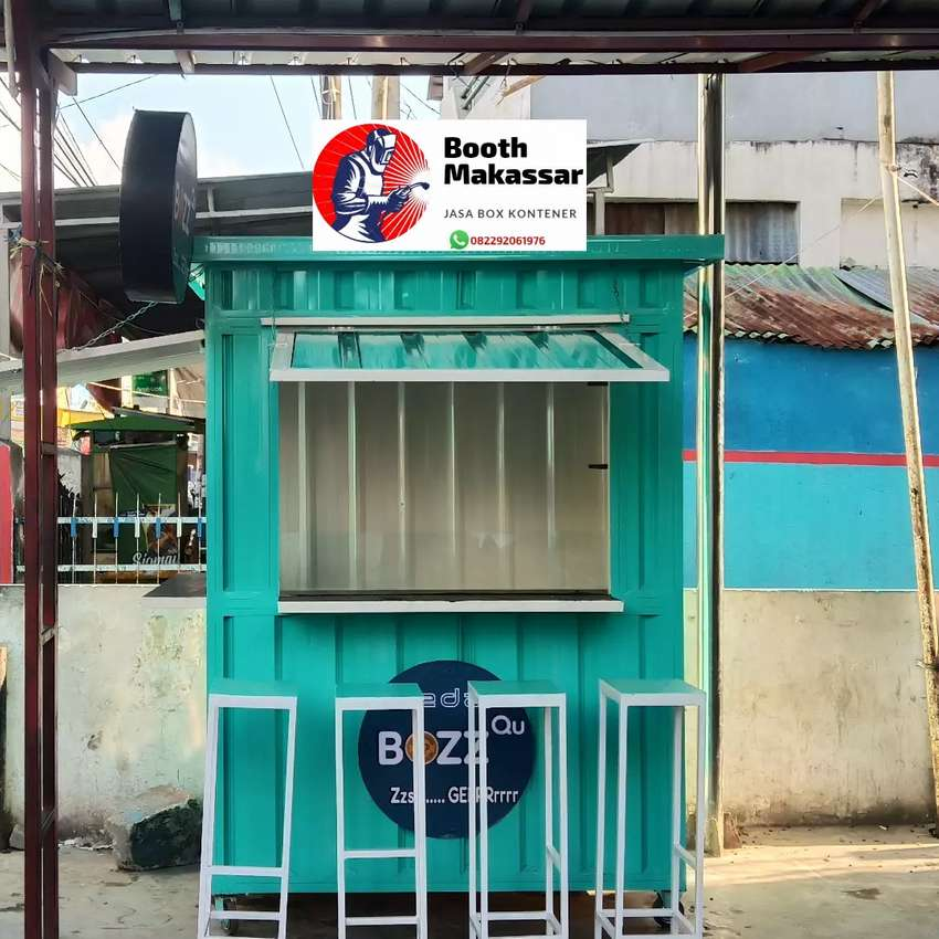 Booth Semi Container Franchise 0