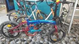Sepeda lipat upgrade 16