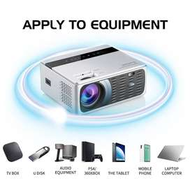 UNIC CP600 HD Mini Projector 8000 Lumens 1080P LED Android WiFi Basic