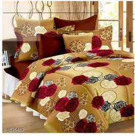 FREE CASH ON DELIVERY...  Stylish fancy bedsheet