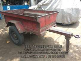 Willys Jeep Trailer For Sale