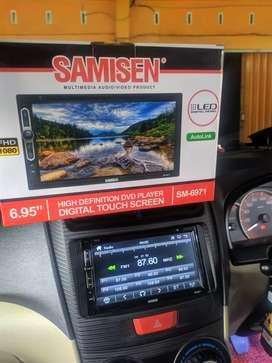 Big Sale!!! Garansi 1thn tv doubeldin tape mobil