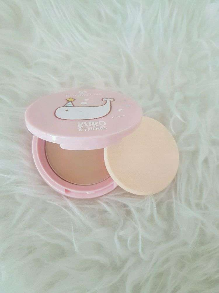 Naughty Chic Magic Matte Compact Foundation ori thailand 0