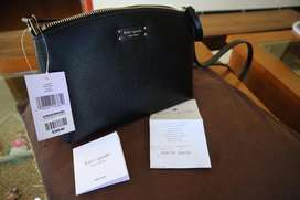 KATE SPADE CROSSBODY BLACK ORIGINAL 100%