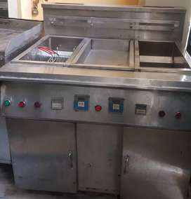 Hot plate ànd imported fryer