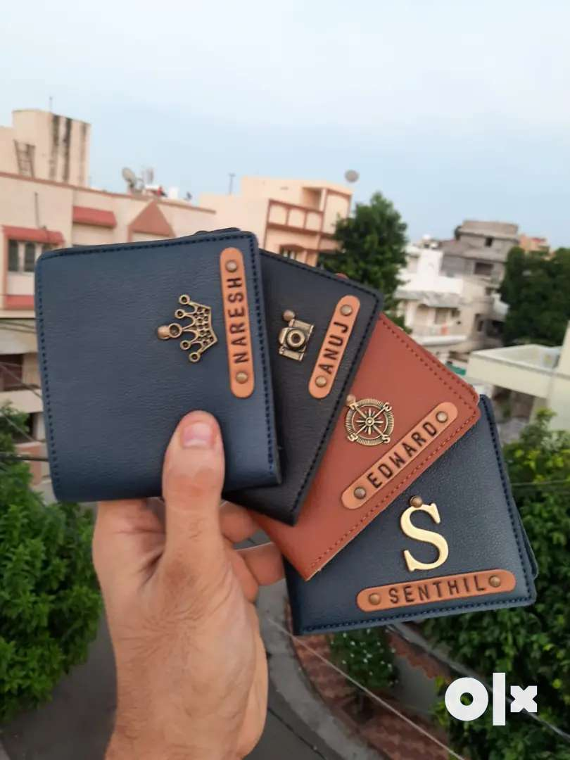 Men's customized wallets 0