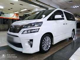 Toyota Vellfire tipe ZG Audioless 2.4 Automatic Tahun 2013