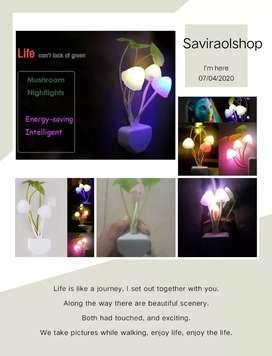 WBS lampu tidur sensor cahaya avatar lampu jamur led price : 20.000