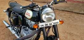 Royal Enfield 350 black
