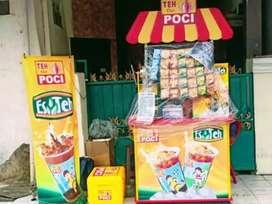 paket franchise bekas TEH POCI kondisi terawat lokasi surabaya