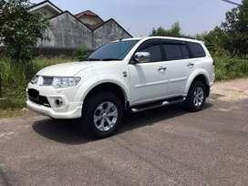 Dijual Mitsubishi PAJERO Sport Dakar Limited AT 2013 Putih Bisa Credit
