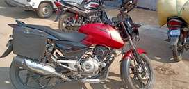 Pulsar 150 with 2 servicing free , in good condition