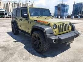 Jeep wrangler Renegade plus commando green 2013