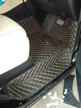 karpet lantai mobil kostum for Toyota Alphard Th 2005-2020 full set