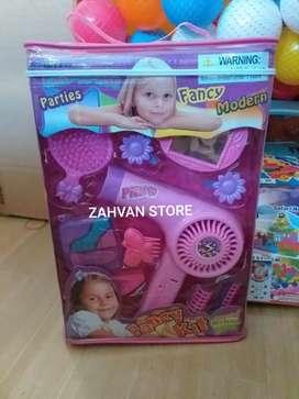 Mainan Hair dryer rambut driyer fancy kit anak
