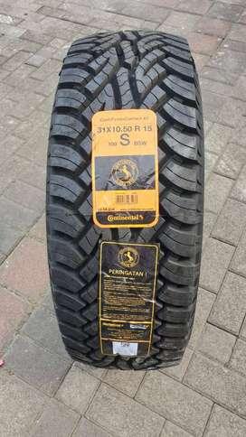 BAN MOBIL OFFROAD Continental 31x10.5 R15  4WD 4X4 Jimny Taft - MURAH