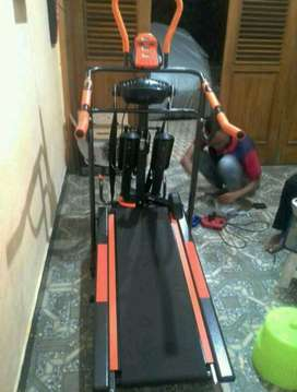 dijual treadmil manual 6 fungsi