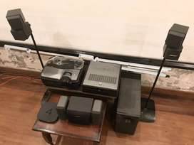 BOSE Theatre with YAMAHA Amplifier and HD PROJECTOR
