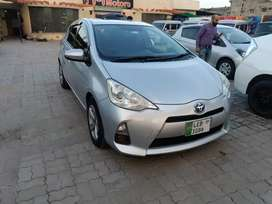 Toyota aqua 2013 model import 2017..
