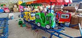ER pabrik odong mainan murah kereta panggung full accesoris