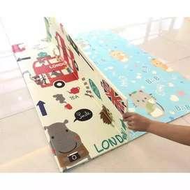 karpet anak ukuran 150x200 ketebalan 8mm dapat tas penyimpanan