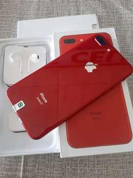 jual iphone 8+ 256 mulus bisa tt inter