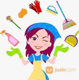 Lowongan asisten rumah tangga / pembantu