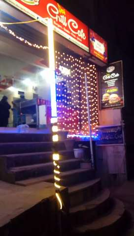 Female Manager Fast Food Resturant