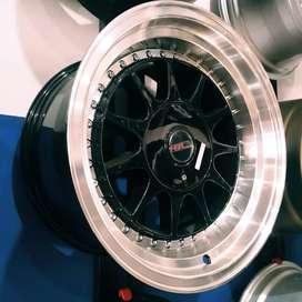 Velg racing jambi untuk mobil xenia, livina, confero, altis, baleno