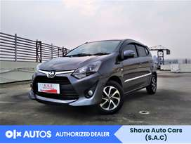 [OLX Autos] Toyota Agya 2018 G 1.2 A/T Bensin Abu-Abu #Shava