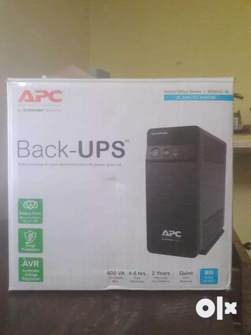APC Backup UPS 600VA 0