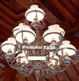 Lampu Gantung Dinding antik Klasik Minimalis Hias Cafe Joglo Gebyok