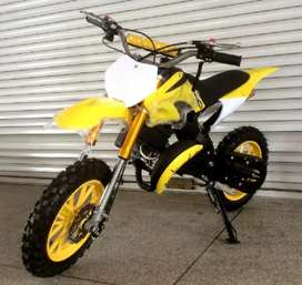 50  cc dirt bike for 5 to 13 years kids petrol engine sale in satra