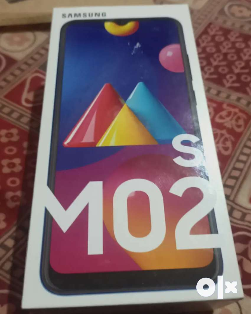 Brand new Samsung galaxy M02s with tempered and 1 year of Insurance 0
