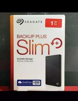 Hardisk eksternal seagate 1tb slim backup plus