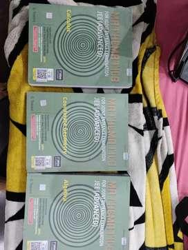 Three Cengage Mathematics books for jee by g.Tewani