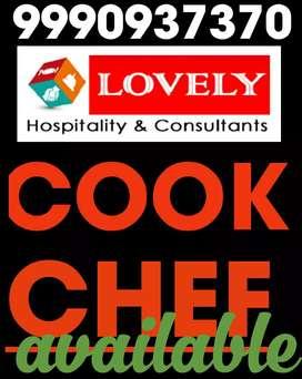 chef-- cook-- waiter/ cashier