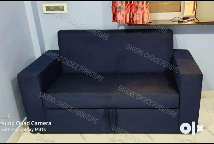 Blue Sofa With Storage