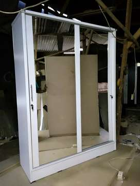 Lemari pintu geser atau sliding,uk besar 150*50*200 hrg 2.3jt ya