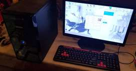 Full Desktop with Monitor, Keyboard, Mouse & UPS available for Sale