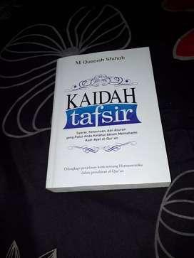 Buku Kaidah Tafsir (Prof. Quraish Syihab)