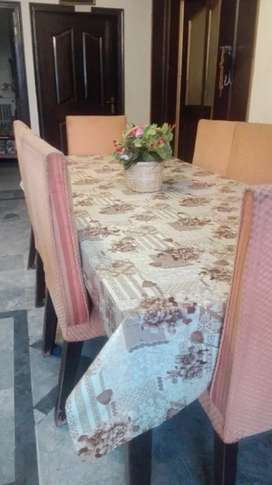 Full dining table set 8 Chairs